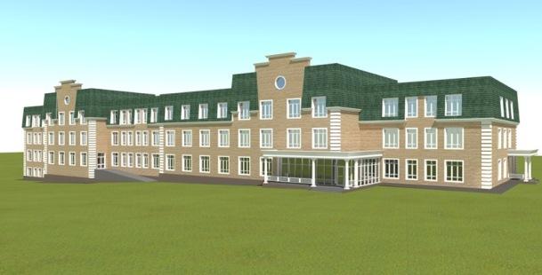 Проект строительства современного жилого корпуса дома-интерната для пожилых людей в Пермском крае